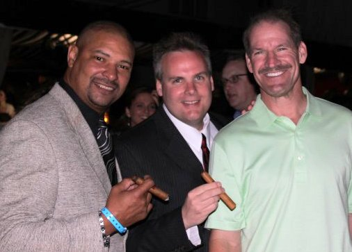 Walter Briggs, John Ost and Bill Cowher